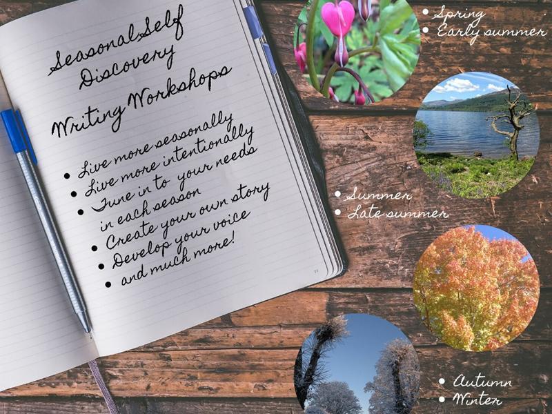 Seasonal Self-Discovery Writing Workshops