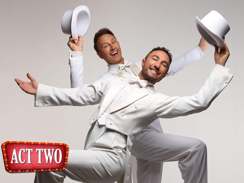 Ian Waite and Vincent Simone - the Ballroom Boys Act 2