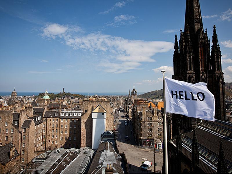 Peter Liversidge, Flags for Edinburgh, 2020