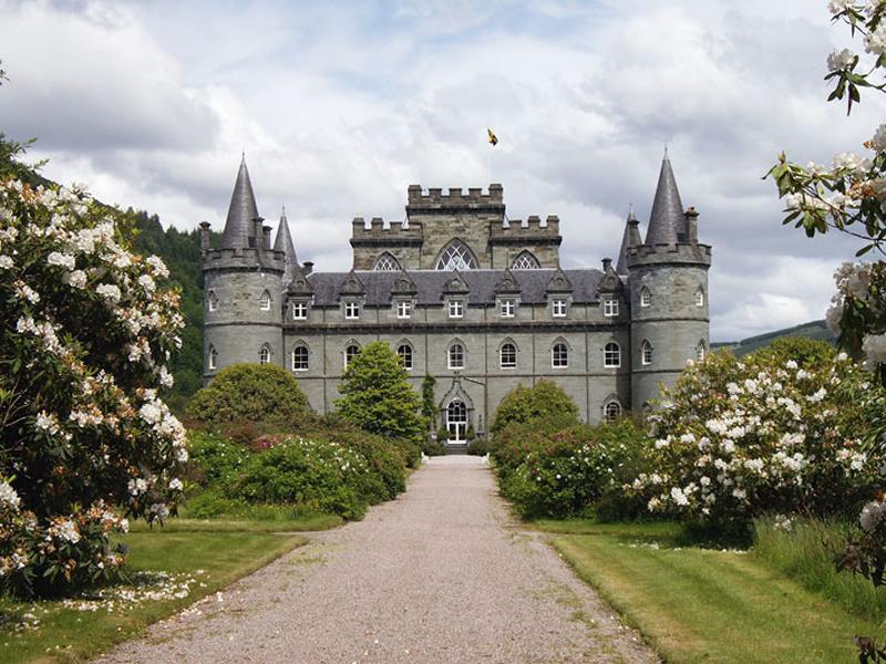 Scotland's Gardens Scheme Open Garden: Inveraray Castle Gardens