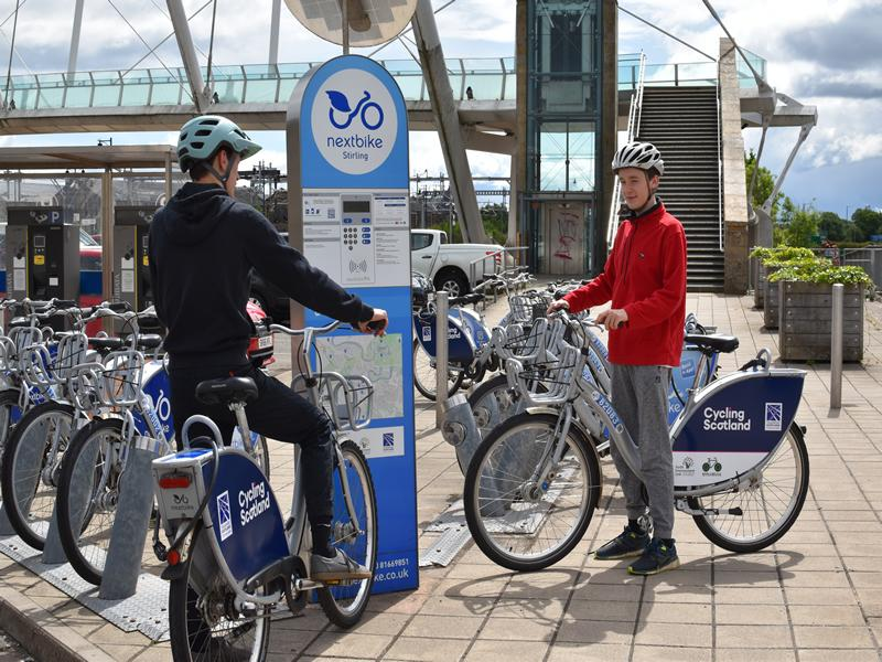 Free Bikes for Stirling Residents through Bike Share