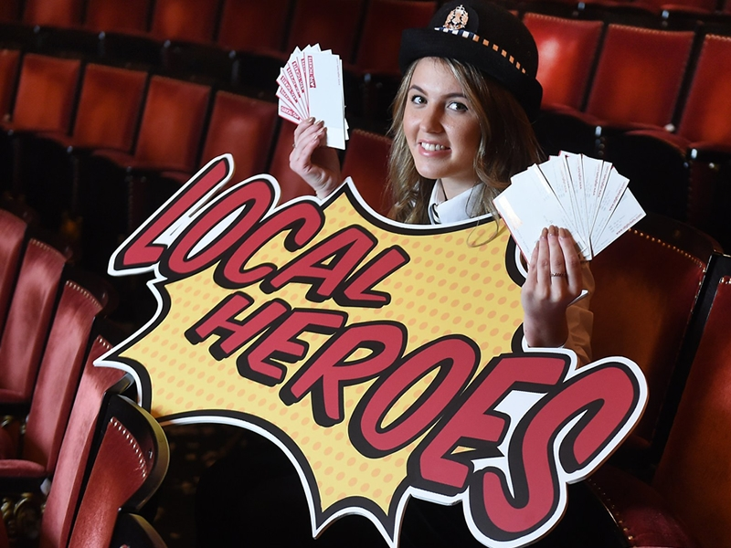 Kapow! Local Heroes offer launched by Glasgow theatres
