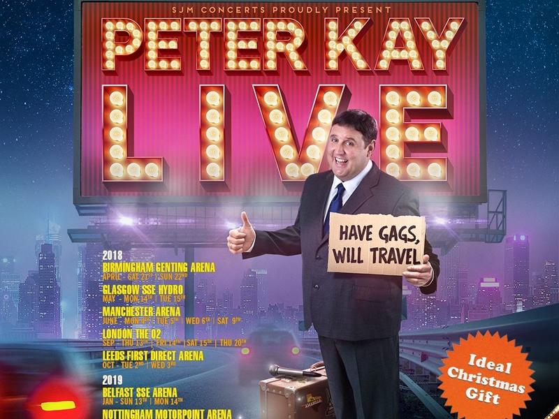 Peter Kay cancels UK live tour
