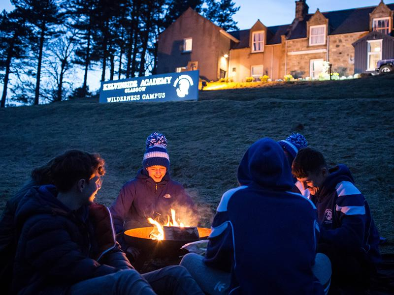 Easter Wilderness Camp in the Heart of the Cairngorms