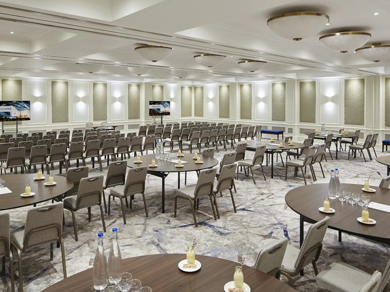 Major refurbishment for Clyde Suite at Glasgow Marriott Hotel