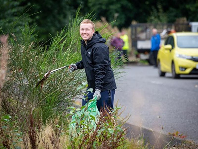 Inspired volunteers head out on more than seven litter picks a day during Spotless September