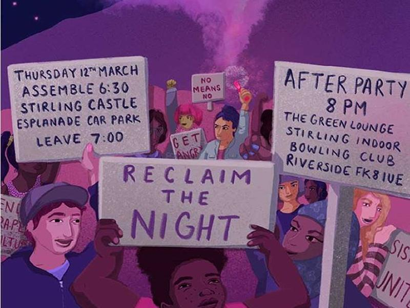 Reclaim The Night Stirling 2020