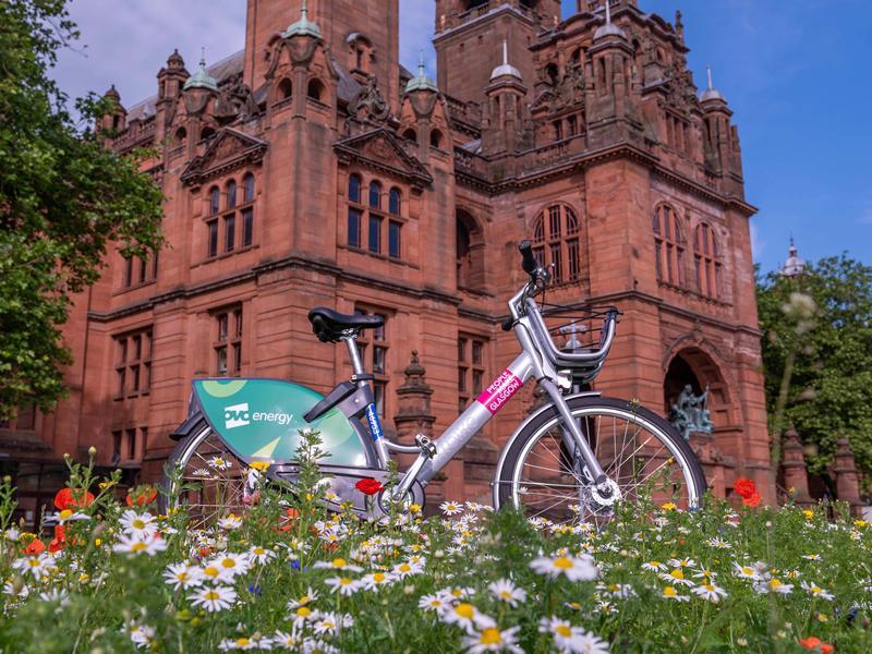 Free OVO Bikes in Glasgow