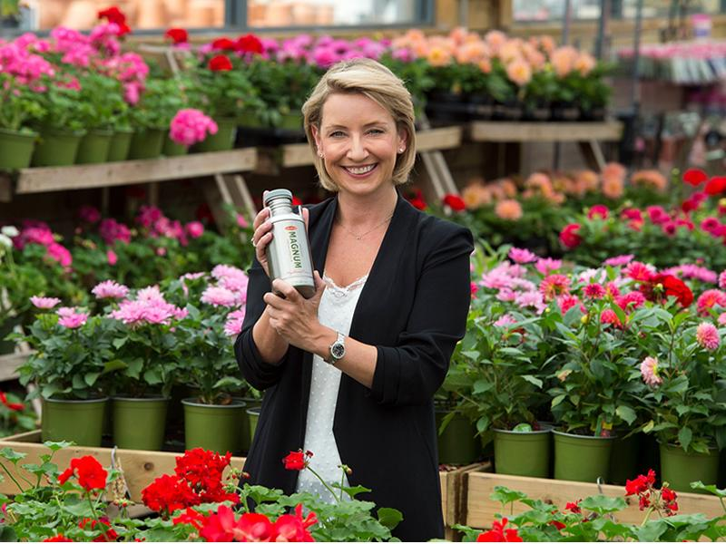 Magnum Scotch Cream Liqueur nurtures growth at Dobbies Garden Centres