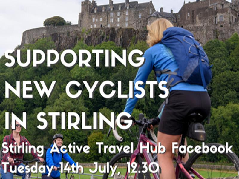 Digital Pop-up: Supporting new cyclists in Stirling
