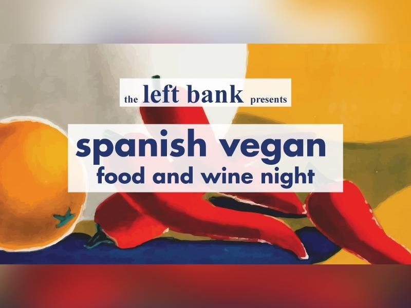 Spanish Vegan Food and Wine Night