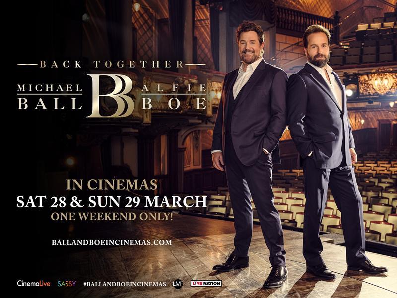 Cinema: Michael Ball & Alfie Boe: Back Together (12A)
