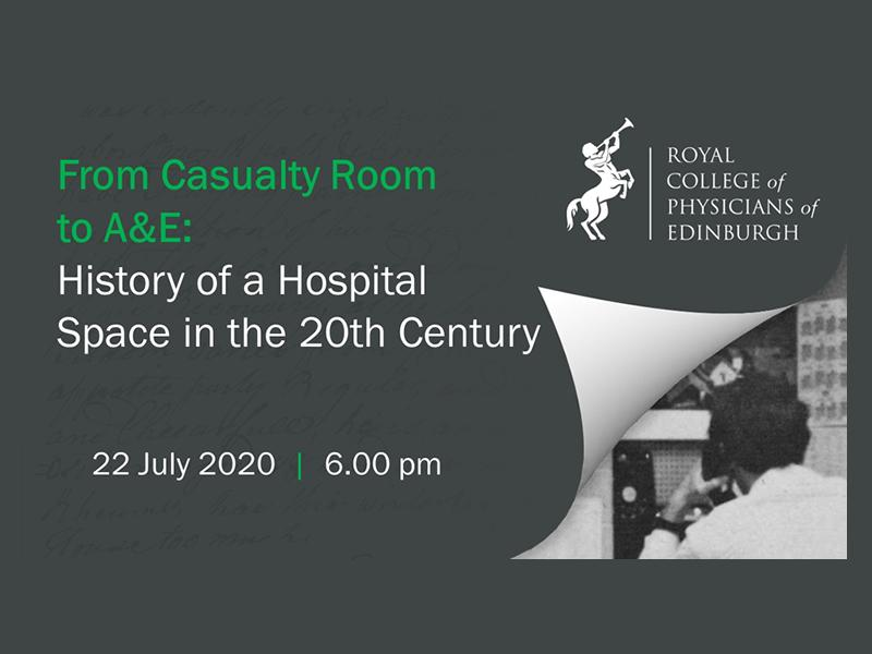 From Casualty Room to A&E: History of a Hospital Space in the Twentieth Century