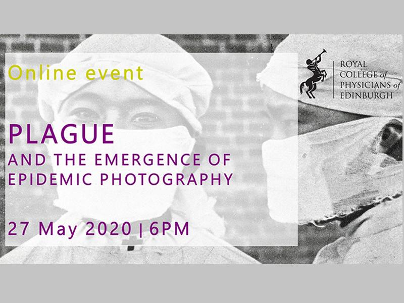 Online lecture: Plague and the emergence of epidemic photography