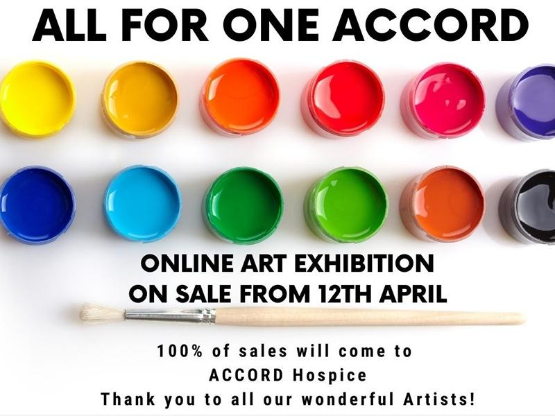 All for One ACCORD Online Art Exhibition
