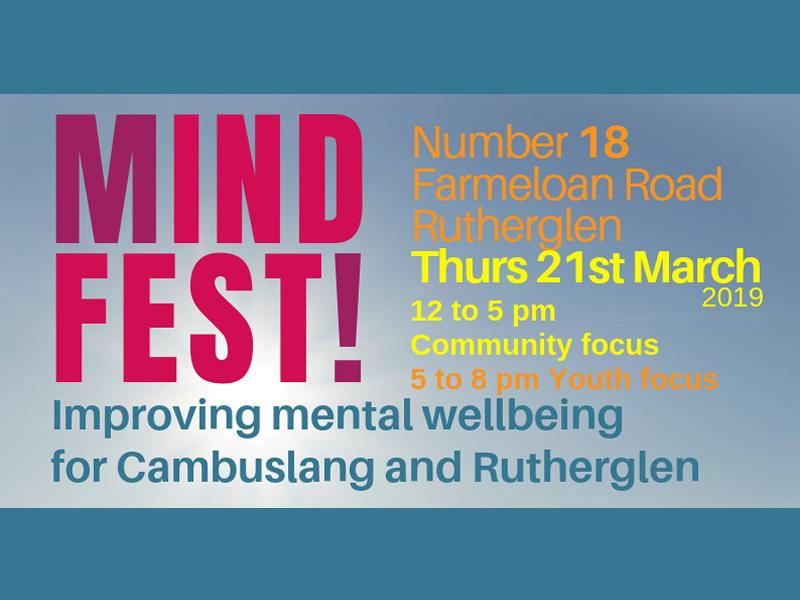 Mind Fest! Improving Mental Wellbeing in Cambuslang and Rutherglen