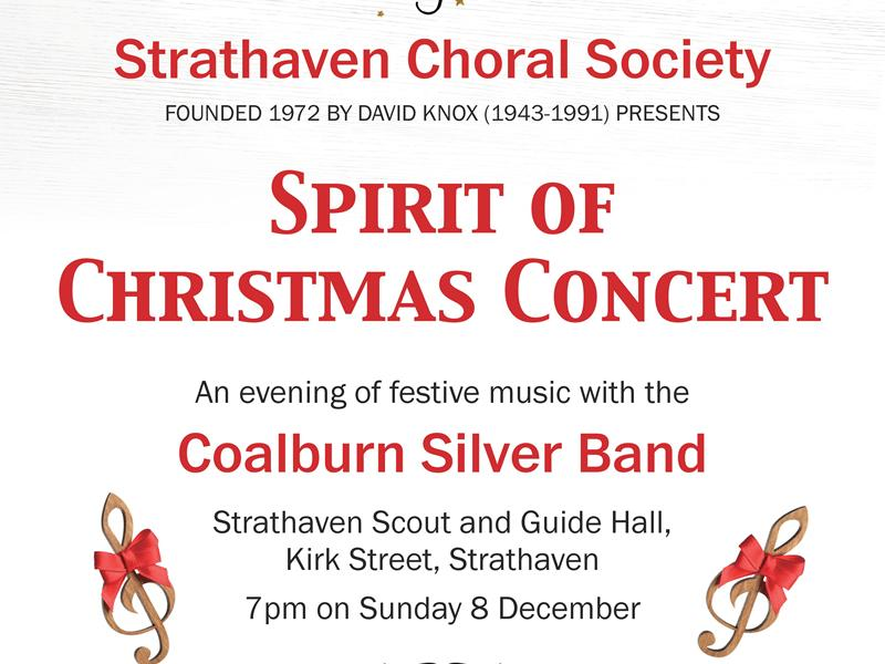 Strathaven Choral Society: Spirit of Christmas Concert