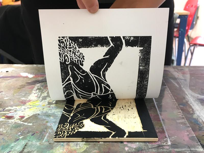Woodcut Print-making - CANCELLED