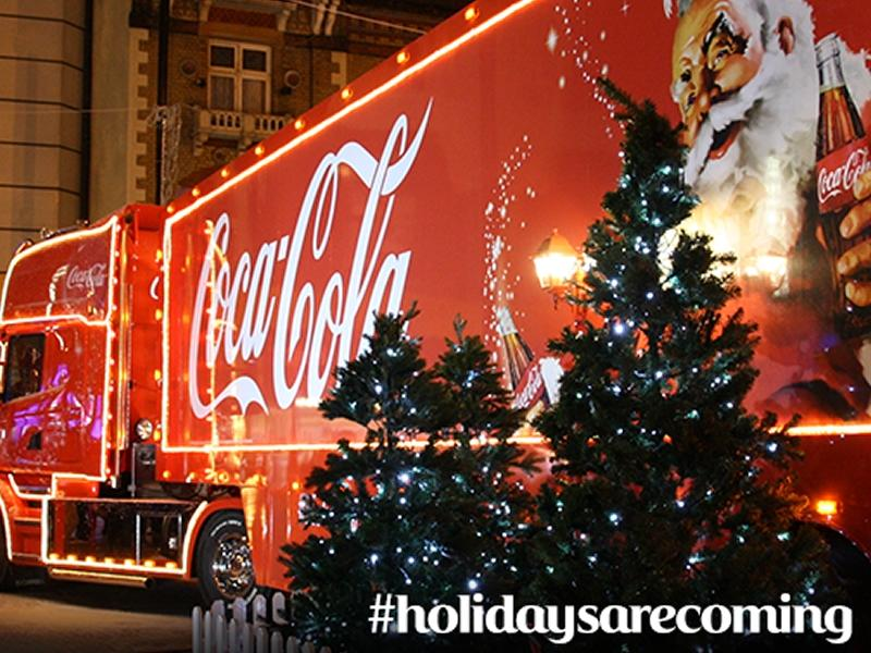 Coca Cola Christmas Truck Tour Edinburgh