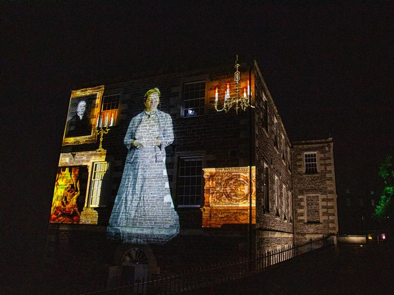 Spectacular show lights up history for visitors
