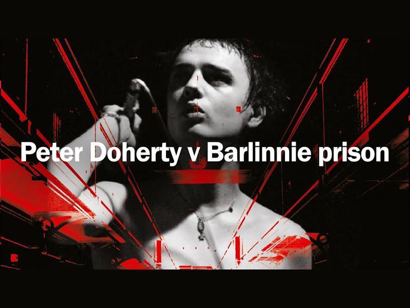 Peter Doherty v Barlinnie Prison Exhibition & DJ Set