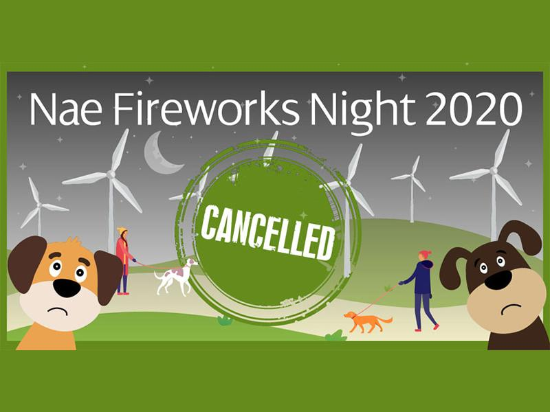 Nae Fireworks Night cancelled due to Coronavirus restrictions