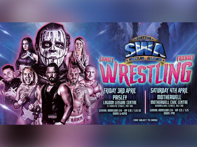 SWA Family Wrestling Motherwell - CANCELLED