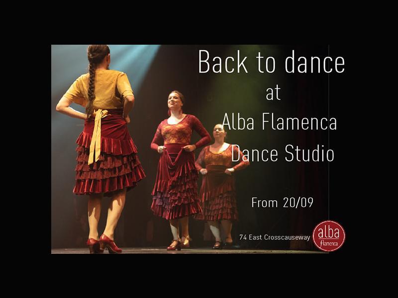 Flamenca Dance Autumn Classes