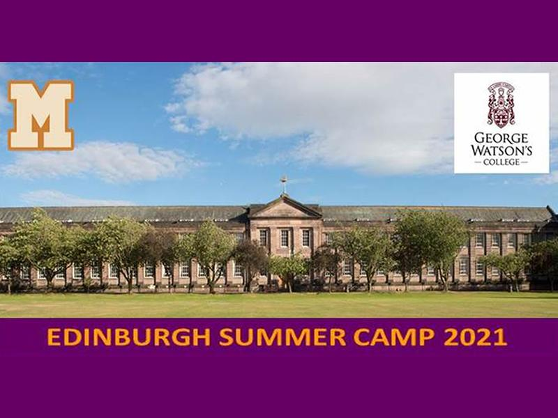 Edinburgh Summer 2021 Camp at George Watson's College