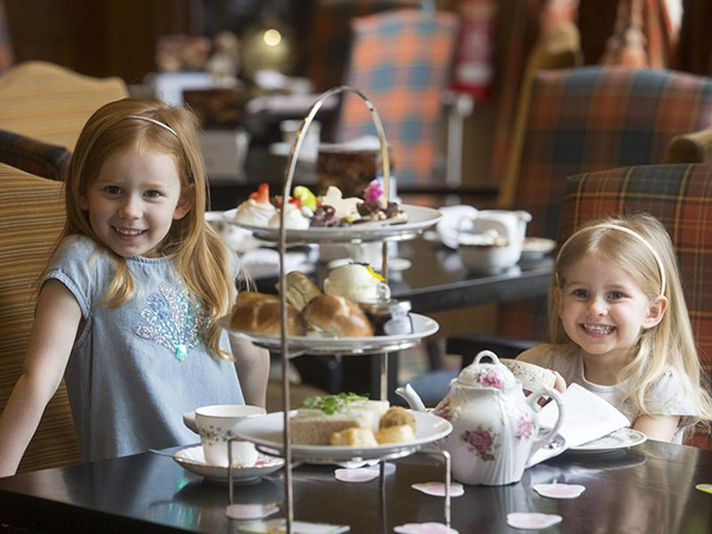 Children's Afternoon Tea at Dalmahoy