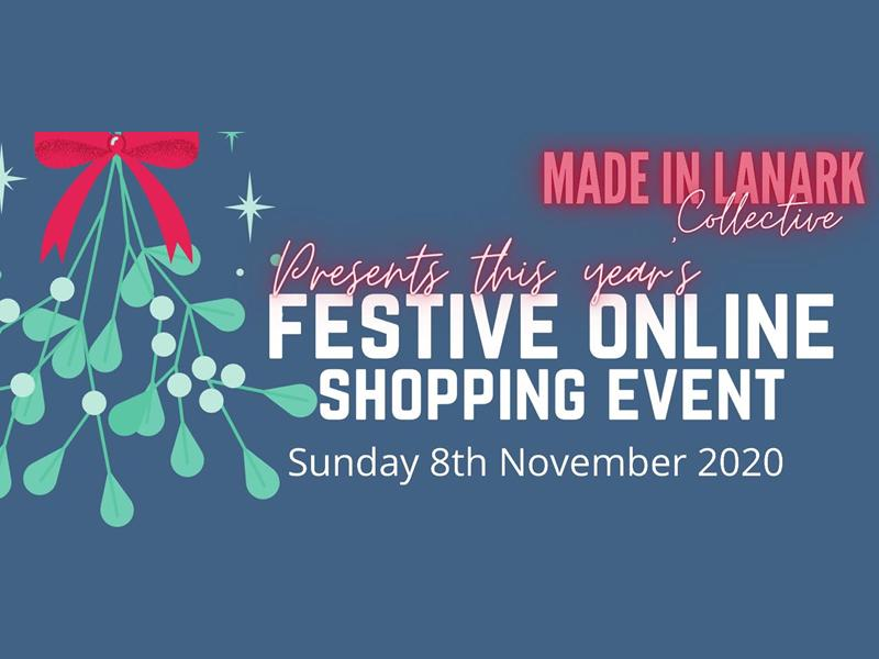 Made In Lanark's Festive Online Shopping Night