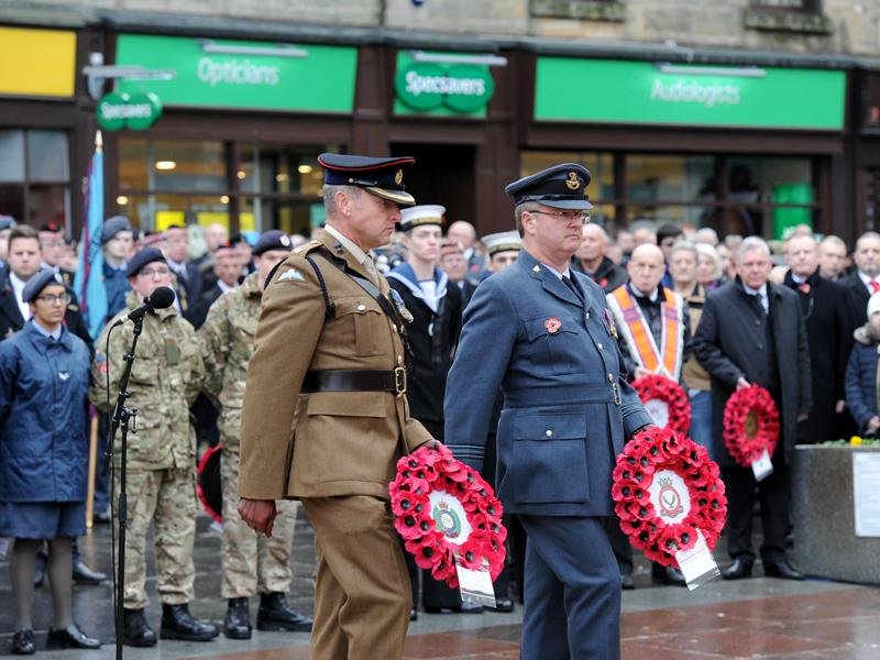 Renfrewshire pays tribute to the fallen with weekend of remembrance