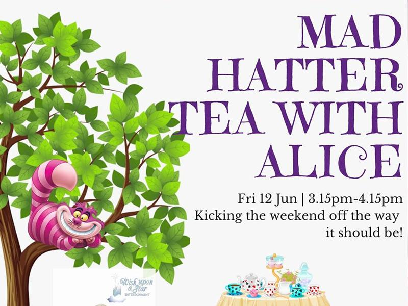 Mad Hatter Tea Party with Alice