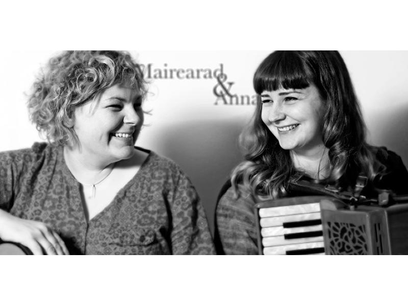 Mairearad Green and Anna Massie at Leith Folk Club