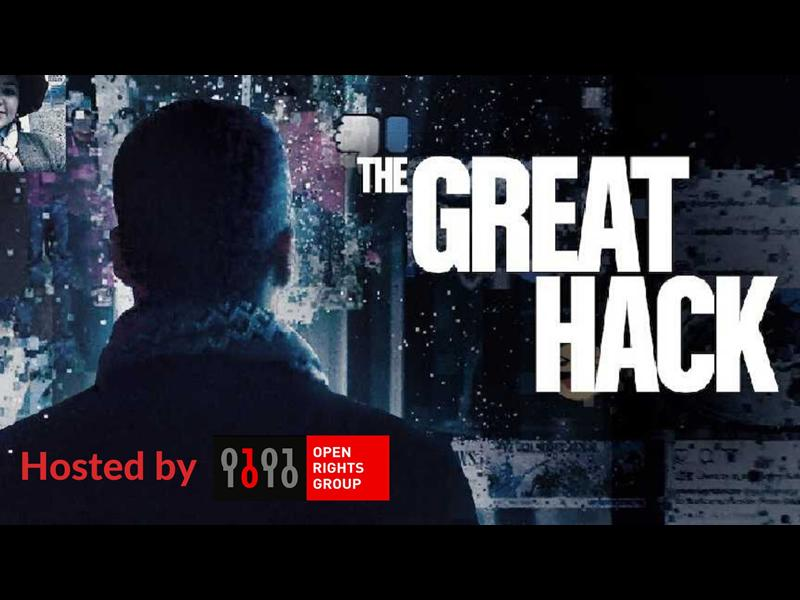 The Great Hack Film Screening & Panel Discussion