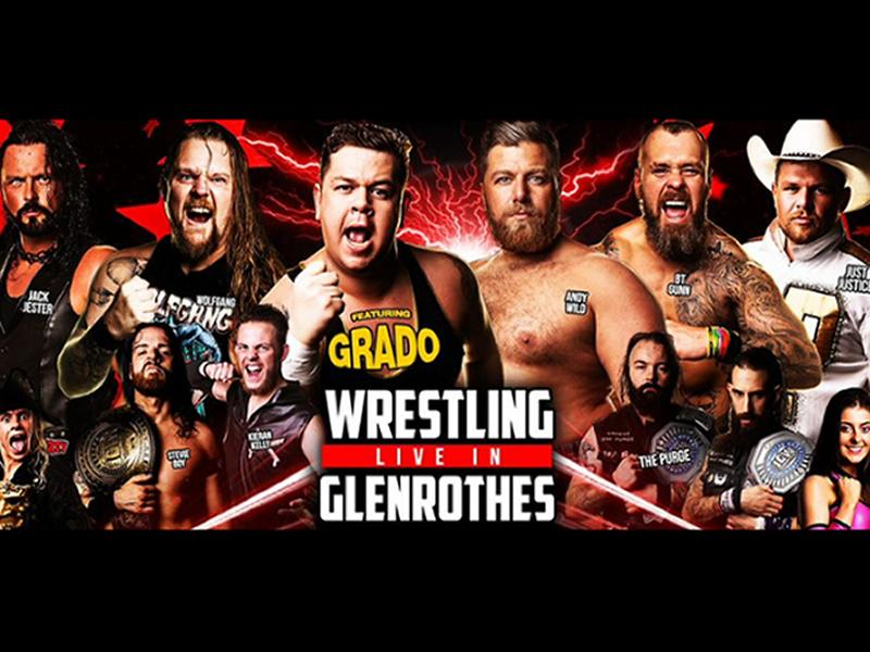 LIVE Family Wrestling - Glenrothes - CANCELLED