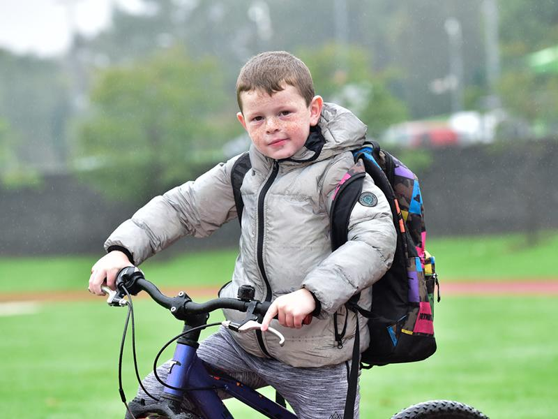 Wellbeing boost for Clacks kids as charity launches 250 bike pilot