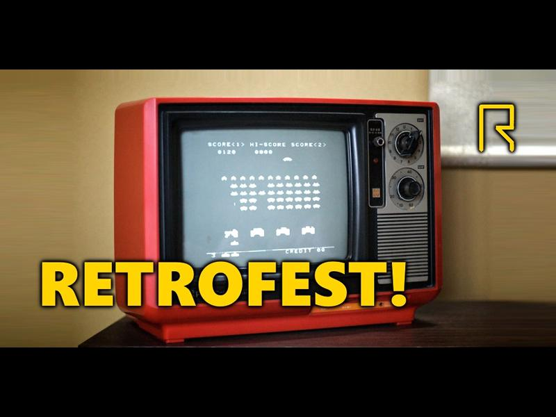 Retrofest: Retro Gaming at R-CADE