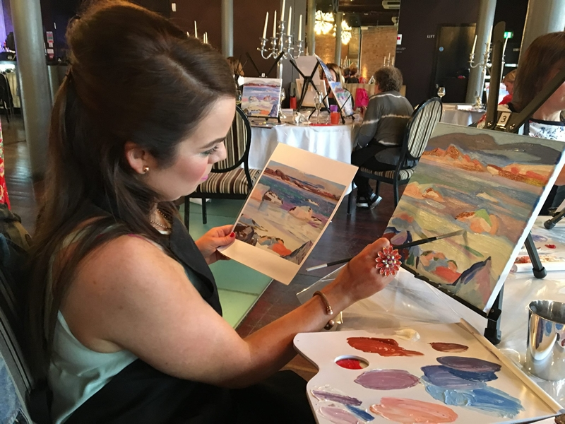 Paint & Sip at Bungo