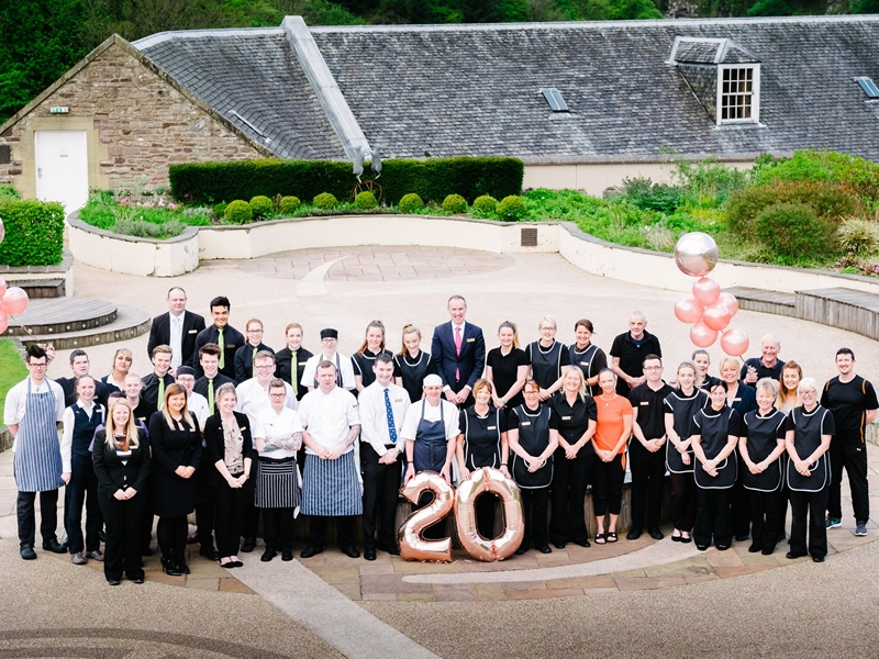 New Lanark Mill Hotel achieves 4 STAR VisitScotland Accreditation as it celebrates its 20th Anniversary