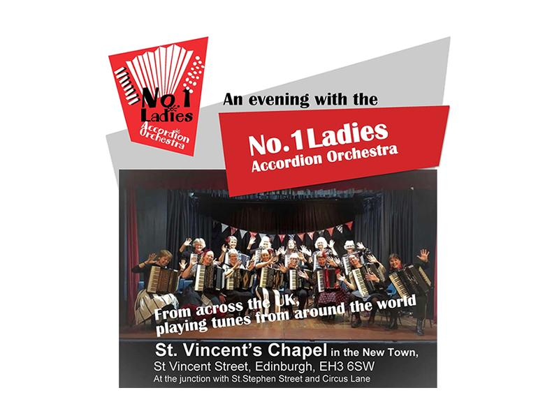 An Evening with the No.1 Ladies Accordion Orchestra