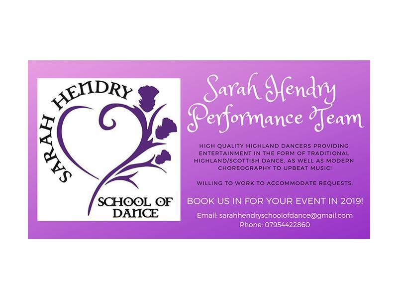 Sarah Hendry School Of Dance