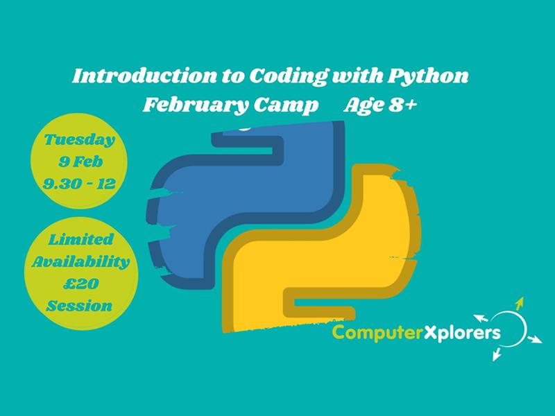 Introduction to Coding with Python - February Camp for Kids