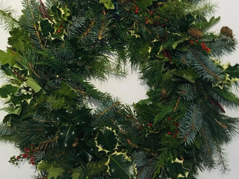 Christmas Wreath Making with Audrey Forrester