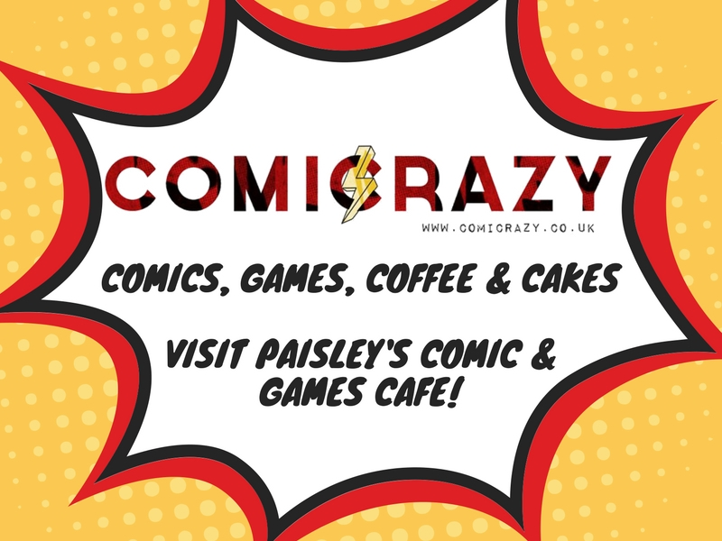 Comicrazy Cafe Events