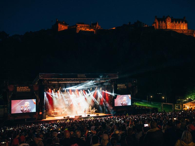 Nearly 150,000 fans enjoy over 30 acts at the epic Summer Sessions in Edinburgh and Glasgow!