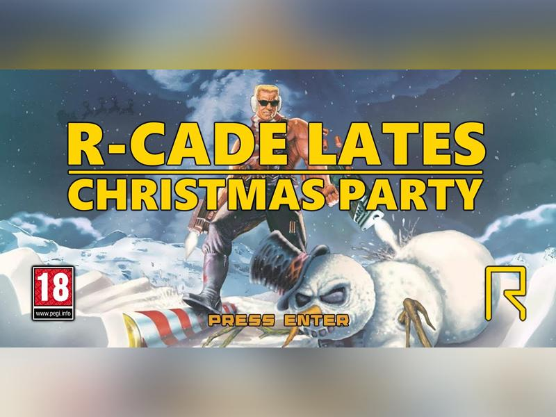 R-CADE Lates: Christmas Party