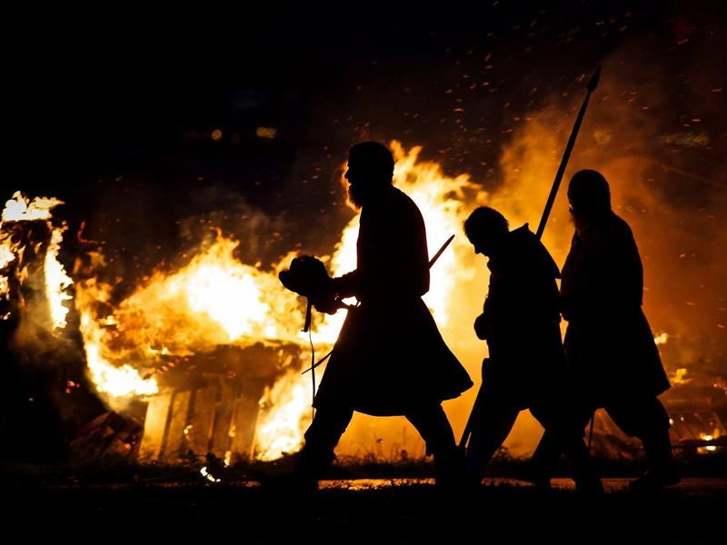 Largs Viking Festival & Festival of Fire