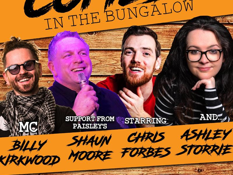 Comedy in the Bungalow with Ashley Storrie & Chris Forbes