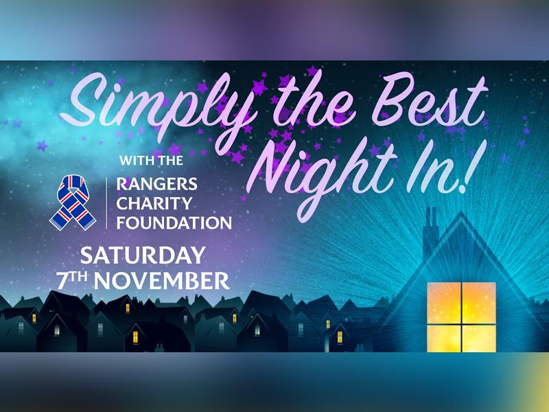 Simply The Best Night In - with the Rangers Charity Foundation!